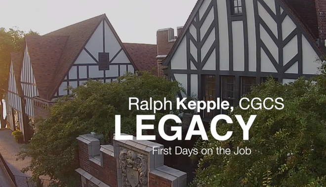 Legacy: First days as a golf course superintendent
